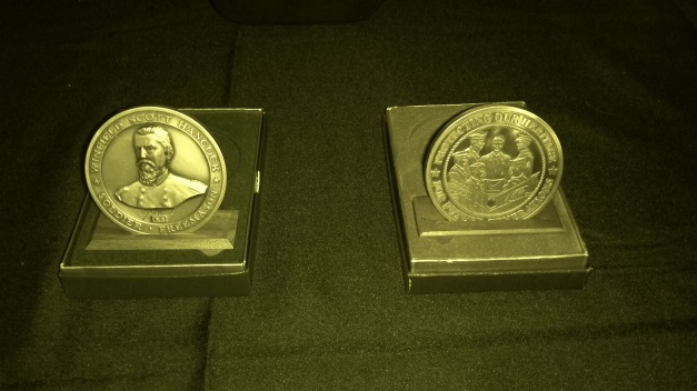 Bingham Medallion and Veteran's Medallion