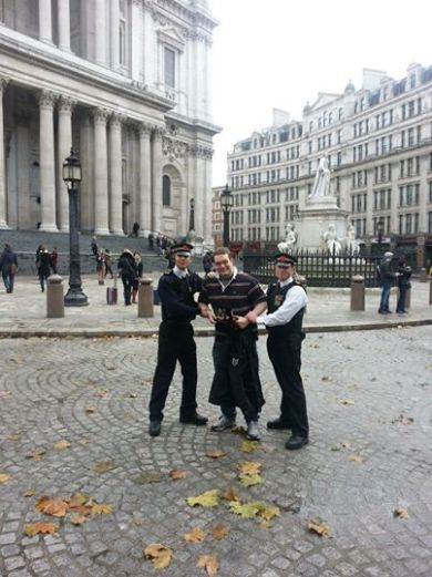 With the Metropolitan Police in London, England