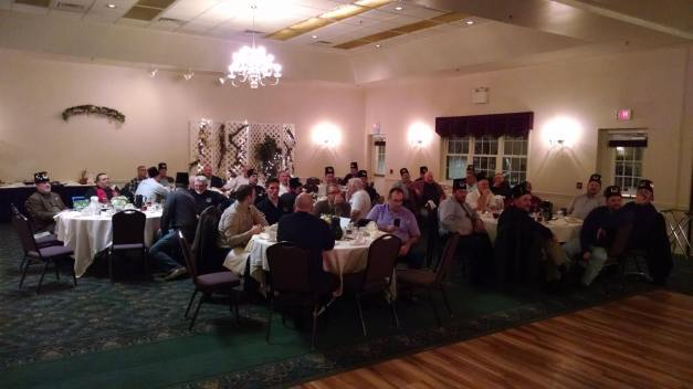 Nearly half of the membership of Ubar Grotto showed up for the November Convivial. A good, free meal will have that effect!